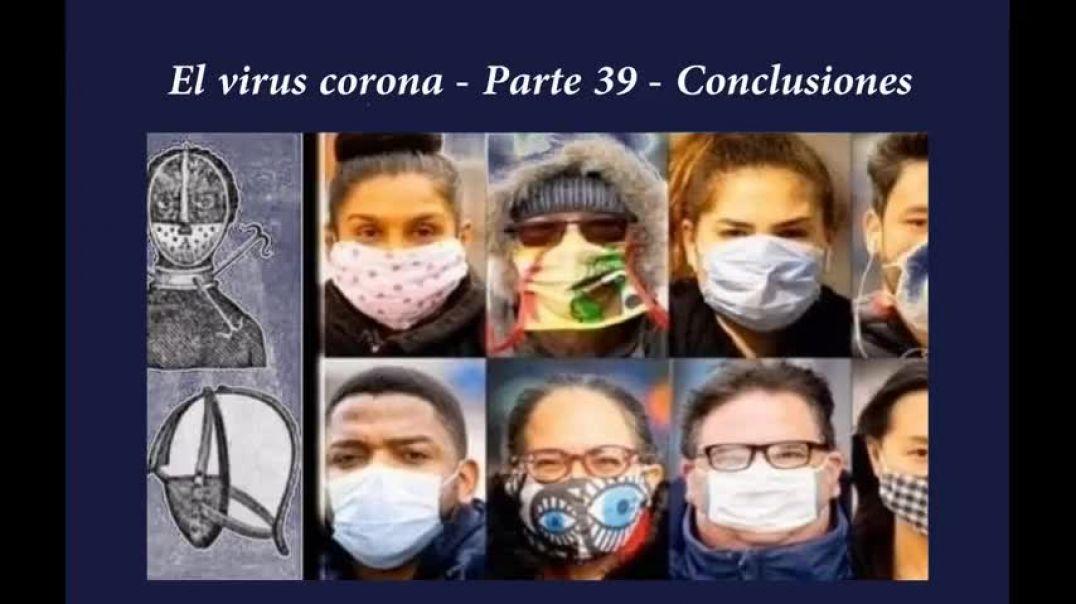 El virus corona - Parte 39 - Conclusiones