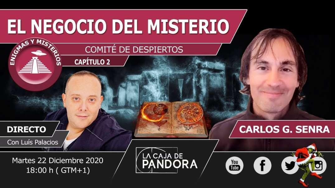 COMITÉ DE DESPIERTOS cap.2: El negocio del Misterio con Carlos G. Senra