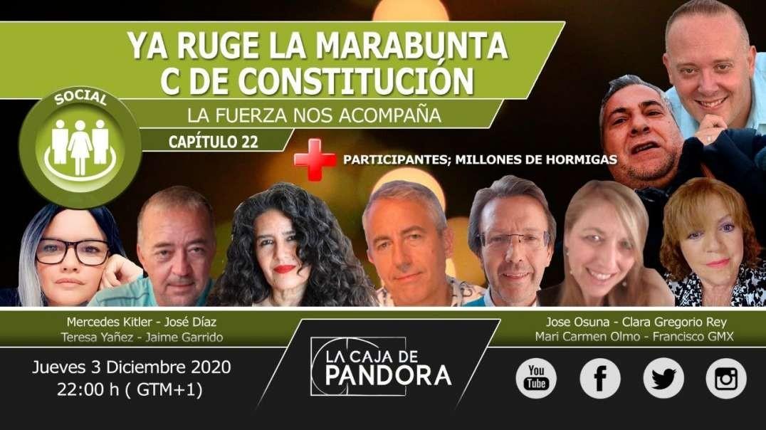 YA RUGE LA MARABUNTA - C de Constitución con Jaime Garrido y el equipo del 99%