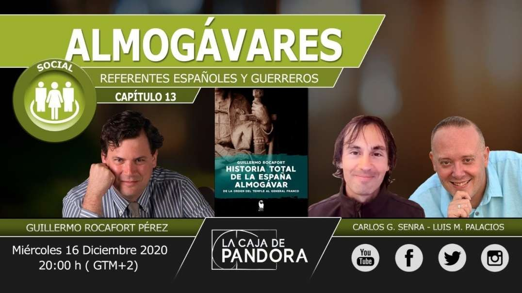 ALMOGÁVARES - Referentes Españoles y Guerreros con Guillermo Rocafort Pérez, Carlos , Luis (1080p_30