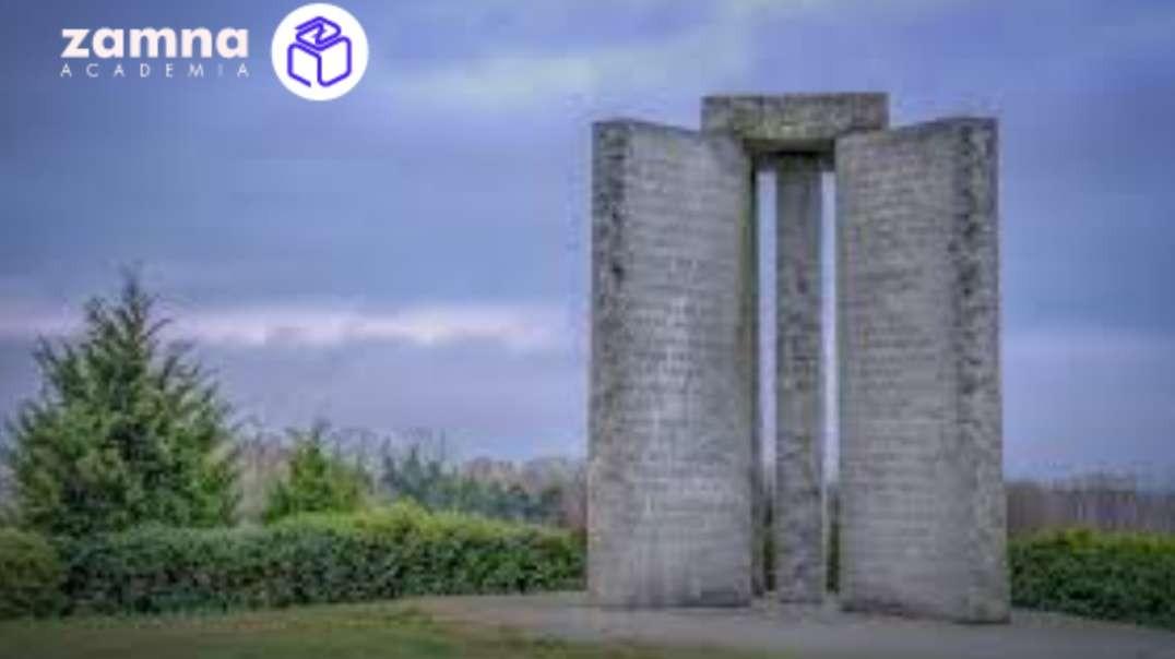 Las piedras Guias de Georgia - ¿Plan de despoblacion mundial