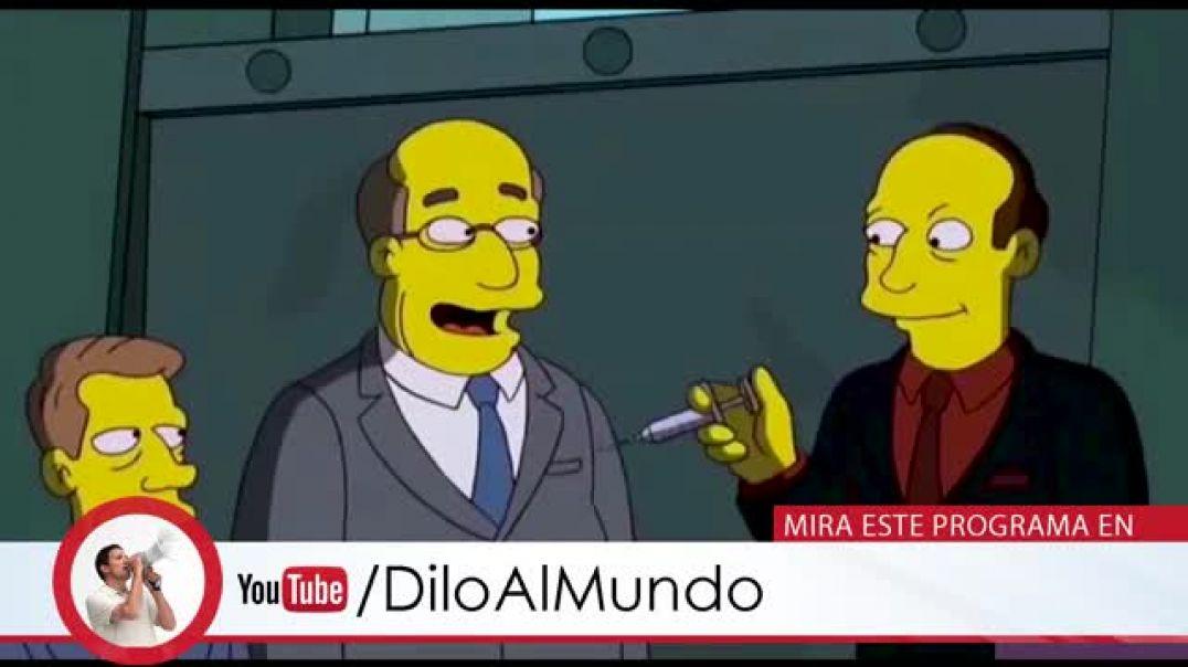 """Los Simpson se anticiparon a la crisis de """" la plandemia""""."""