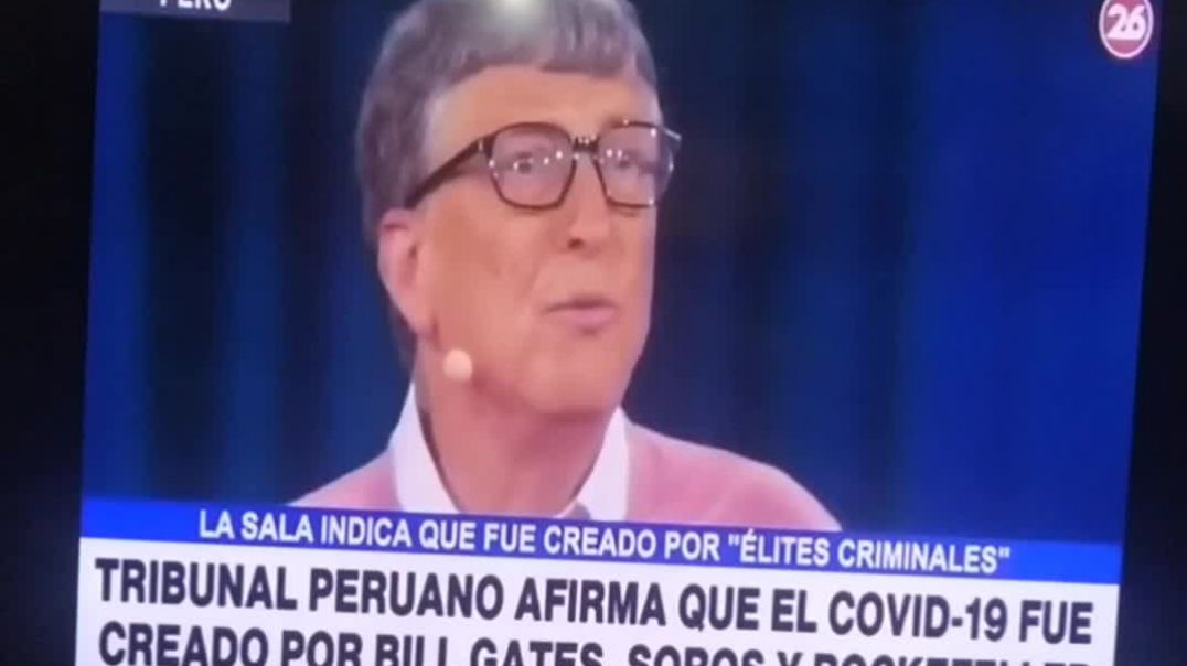 """LO ESTÁN DICIENDO POR TELEVISIÓN. HAY UNA """"ÉLITE CRIMINAL"""" QUE CREÓ LA PLANDEMIA !"""