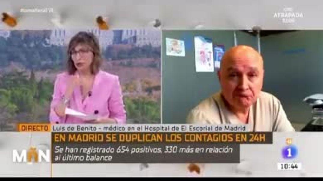 PLANDEMIA - TV TERRORISTA DESMENTIDA EN VIVO