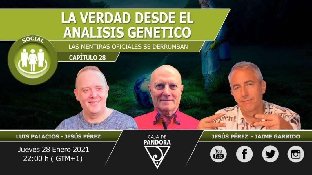 LA VERDAD DESDE EL ANALISIS GENETICO con Jesús Pérez Rodríguez & Jaime Garrido