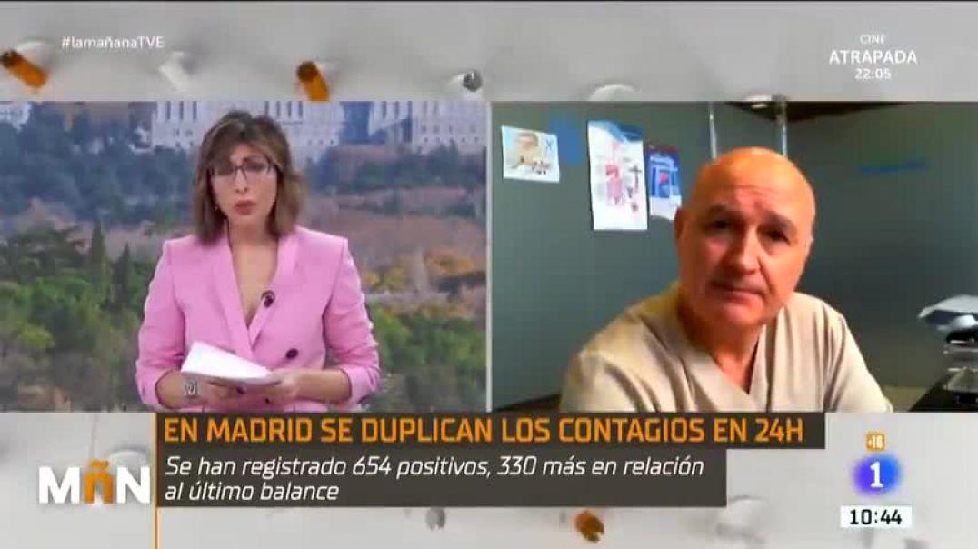 """Dr. Luis de Benito en las """"Mañanas de la 1"""" TVE"""