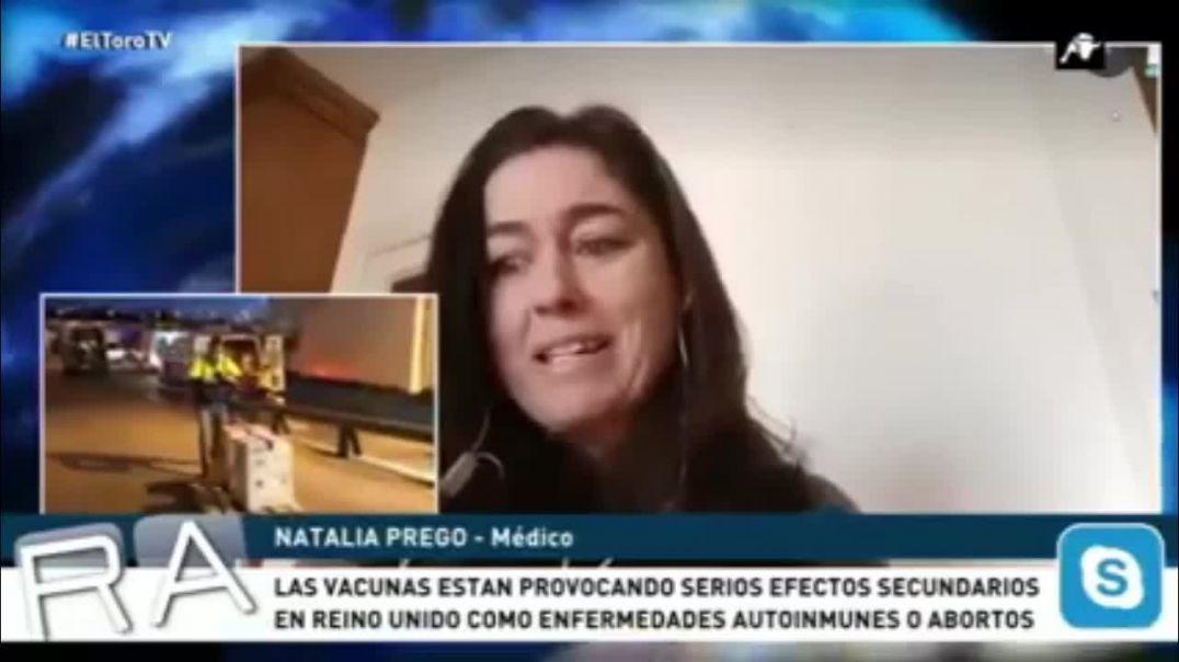 """DRA NATALIA PREGO, SOBRE LO QUE HACEN LLAMAR """"VACUNA"""""""