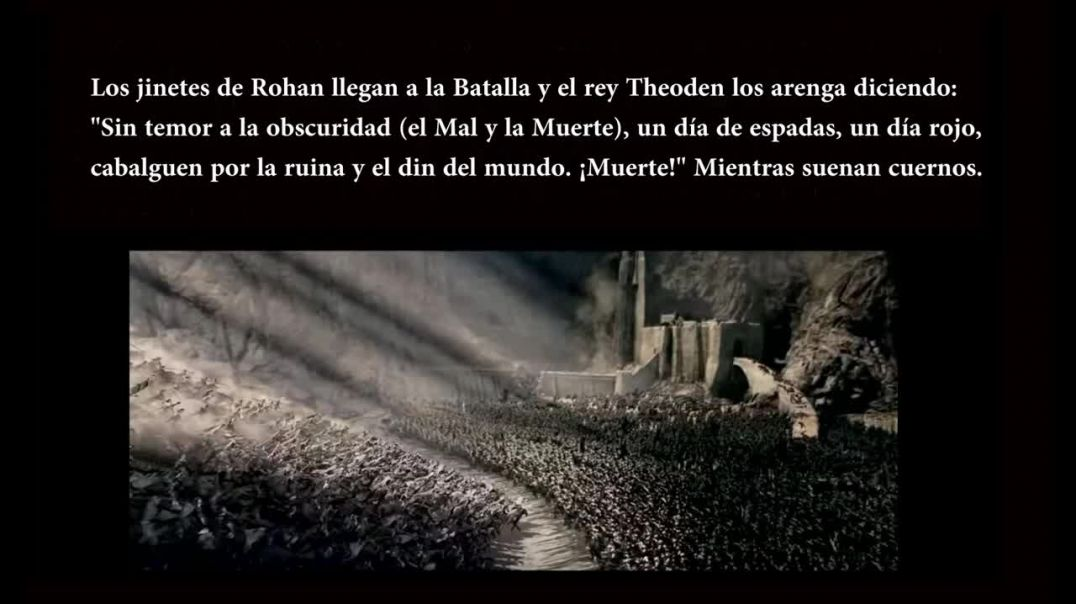 El Senor de los Anillos y las Profecias del Apocalipsis - Parte 3 El retorno del rey