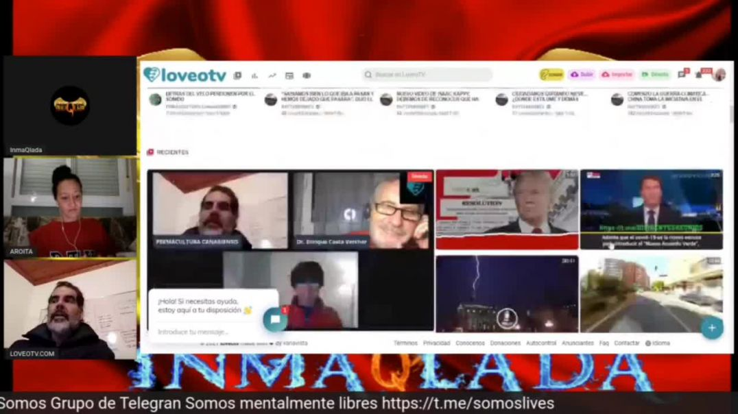 Promoción a loveotv.com. Instrucciones para donar. Esta plataforma nos da poder.