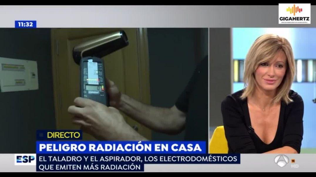 RADIACIÓN EN CASA. Emitido en TV Espejo Público y censurado