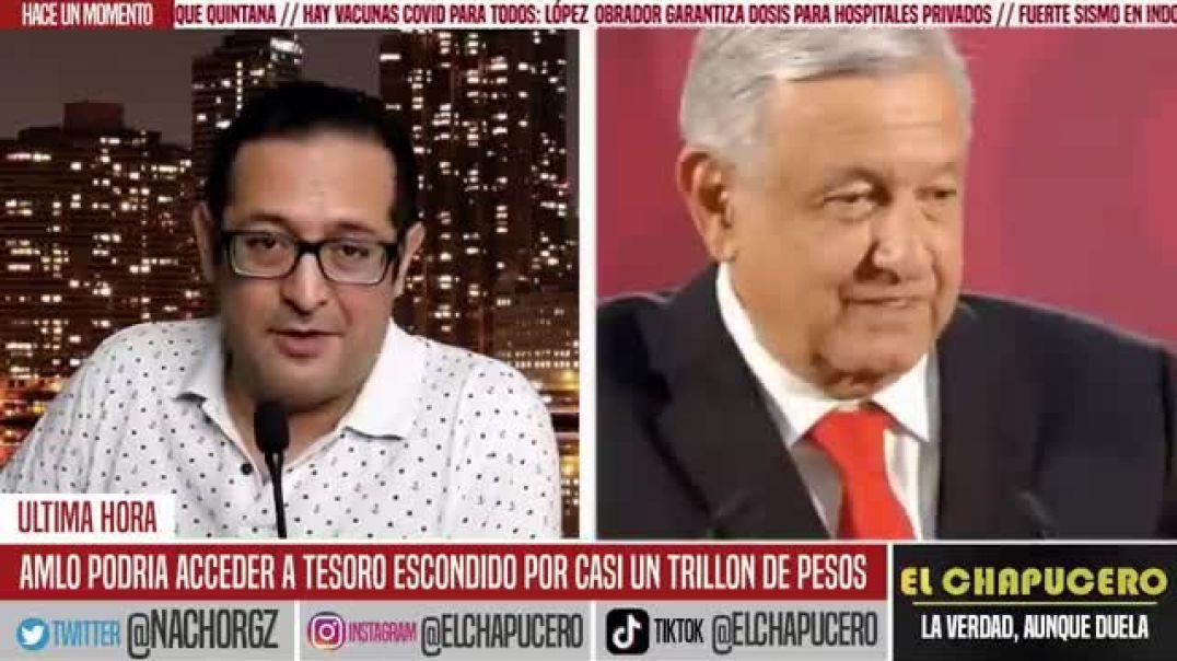 NO VAS A CREERLO APARECE TESORO EN MONEDAS DE ORO DE MEJICO ESCONDIDO DE UN TRILLÓN DE PESOS EN LA C