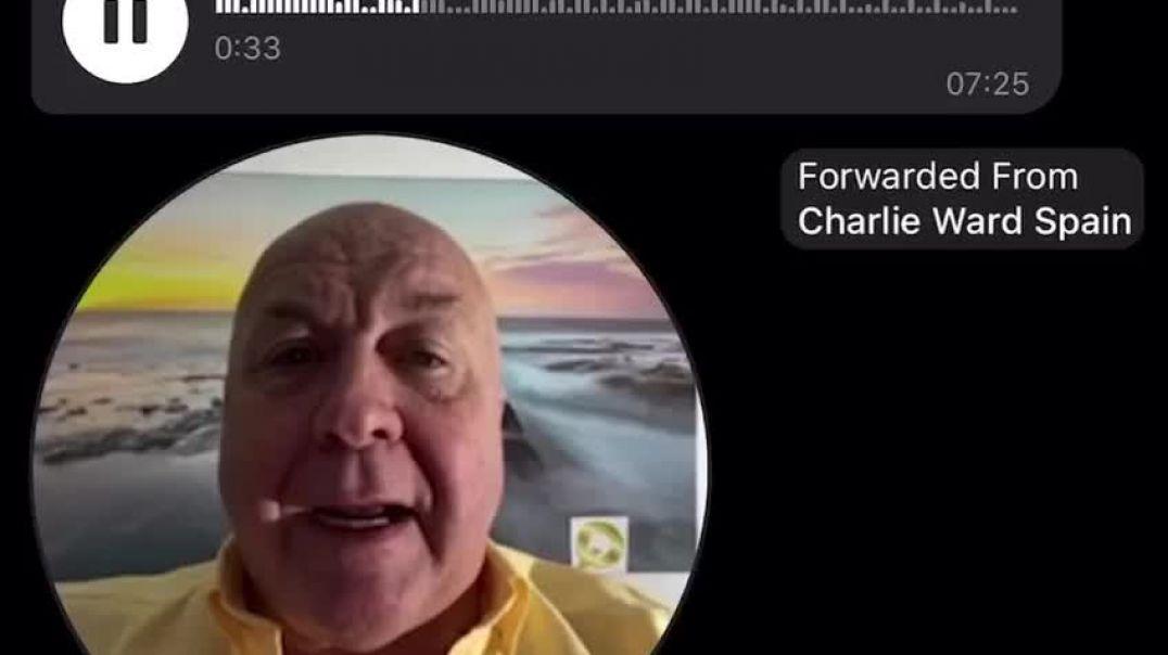 Charlie Ward informa de que las detenciones han comenzado en España.