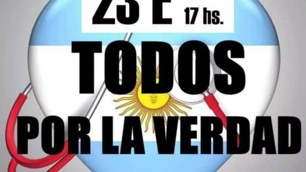 CONVOCATORIA NACIONAL POR LA VERDAD 23 E 17 HS