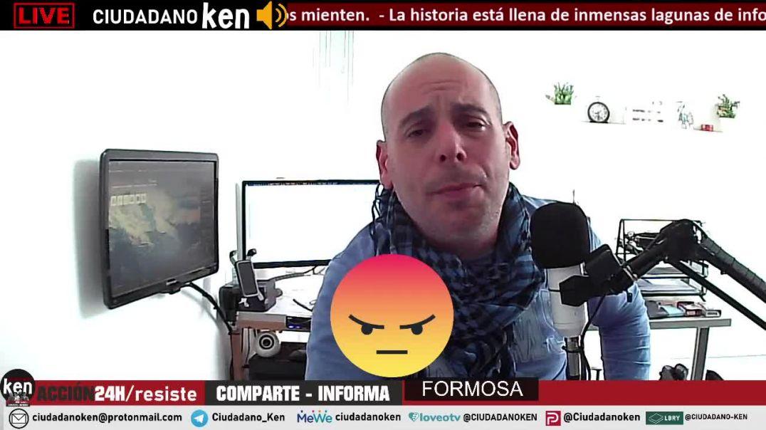 FORMOSA - ARGENTINA - BIENVENIDOS A LA ESCLAVITUD CON CORBATA Y TRAJE.
