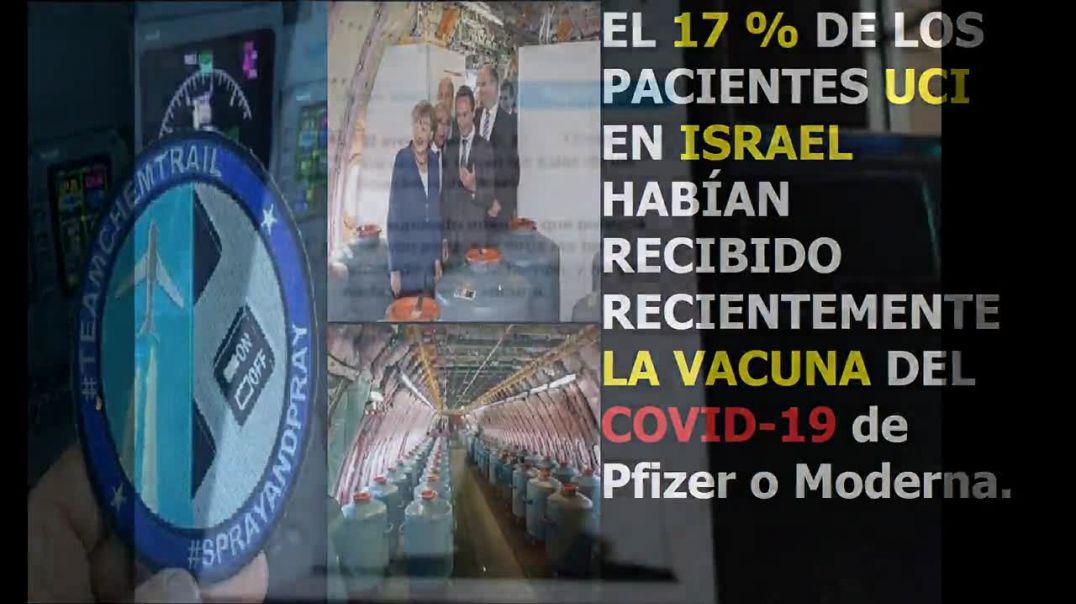 EL 17 por ciento de los pacientes UCI EN ISRAEL se vacunaron del Covid 19