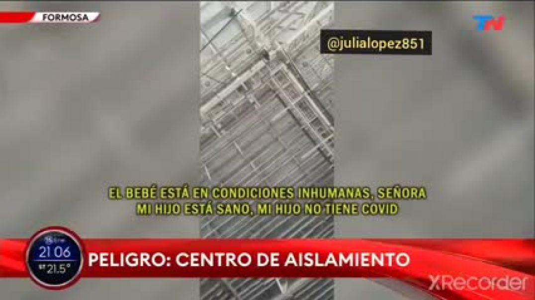 INJUSTICIAS Y ABUSOS !! De terror !! Campos de concentración en Formosa Argentina