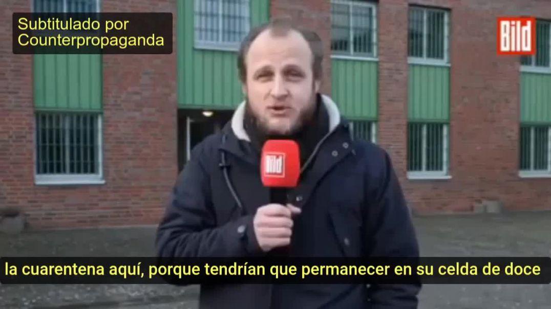 CÁRCELES LISTAS PARA CIUDADANOS QUE SE OPONGAN A LAS CUARENTENAS EN ALEMANIA
