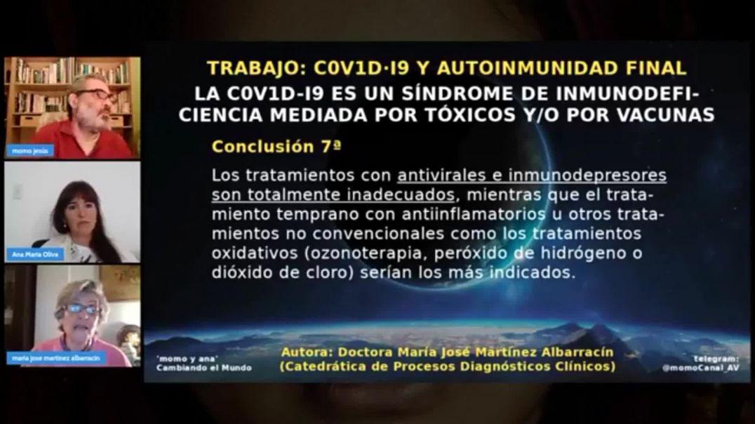 Dra. Albarracin: El ClO2 no es veneno, es la SALVACION. Es CRIMINAL decir que es peligroso