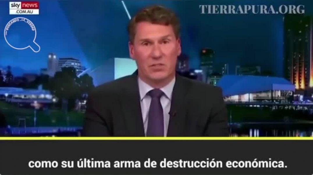 Un periodista de Sky News cuenta la verdad tras la plandemia. La agenda social-comunista NWO.