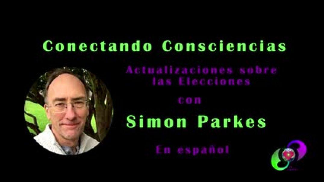 ⛔25 de Enero de 2021 Conectando Consciencias con Simon Parkes