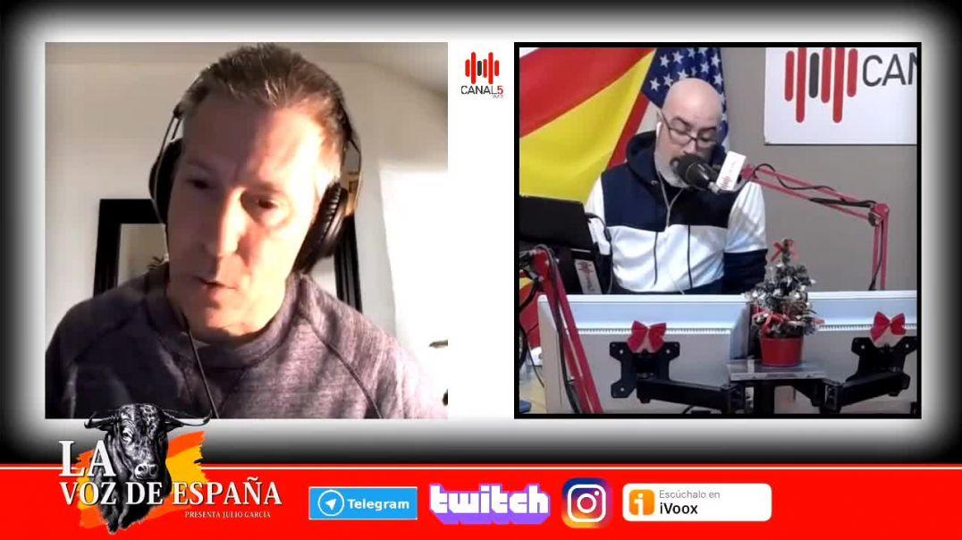 Entrevista a David Palcerisa en Canal5Radio.
