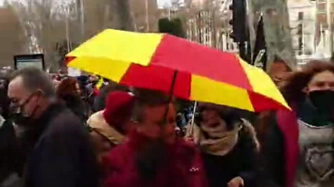 23_01_2021 manifestación 23 E en Madrid