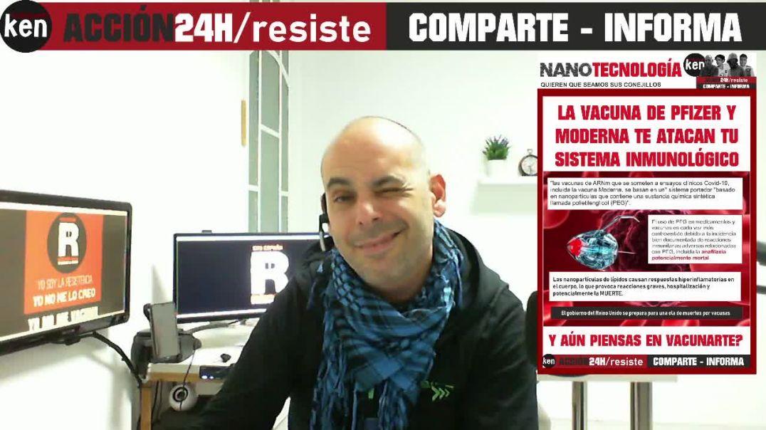 LAS VACUNAS PFIZER, MODERNA, - ATACAN TU SISTEMA Y MODIFICAN TU ADN 08/12/2020