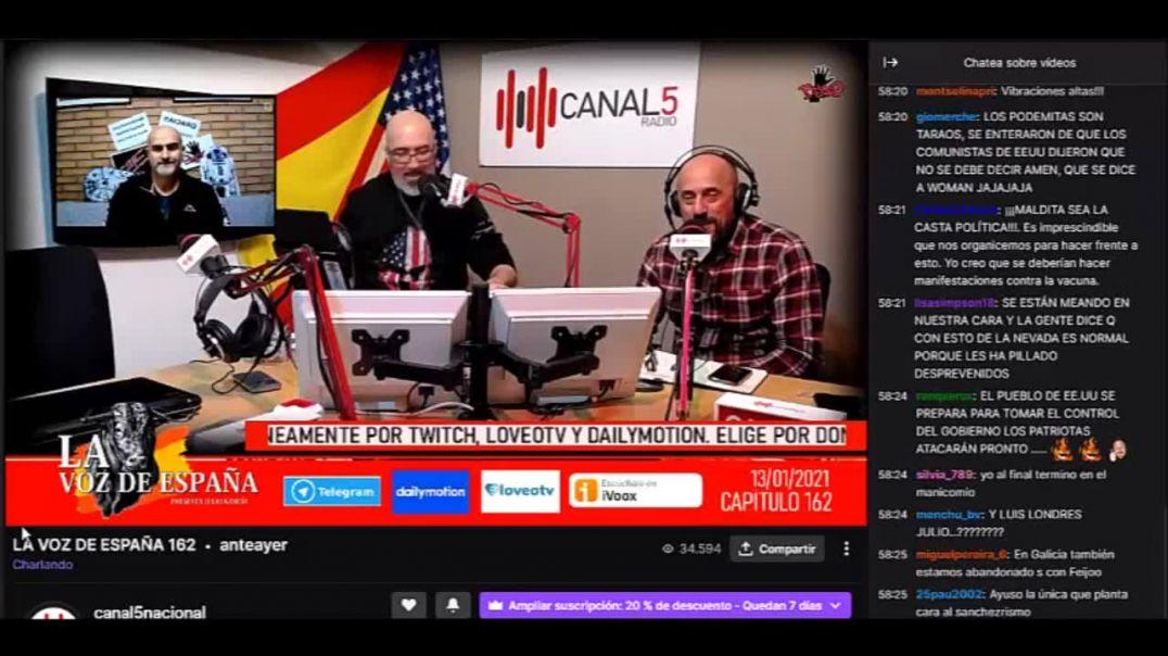 13_01_2021 Entrevista Canal 5 TV Programa 163