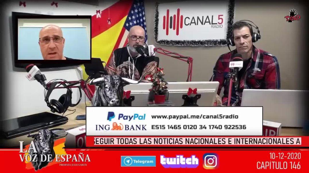 INTERVENCIÓN DEL DR. JOSE LUIS SEVILLANO EN CANAL 5 RADIO, 10 DE DICIEMBRE _ TEORÍA AMBIENTAL