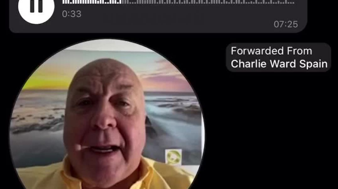 Charlie Ward afirma que las detenciones han comenzado en España.