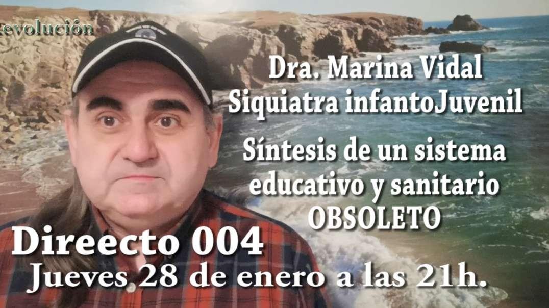 Promoción directo 004 - Síntesis de un sistema educativo y sanitario obsoleto, con la Dra. Marina Vi