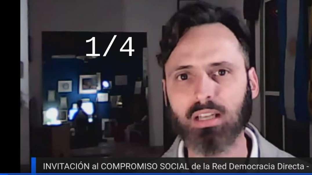 INVITACIÓN al COMPROMISO SOCIAL - 1/4 - Germán Rodríguez Mayor - Red DD