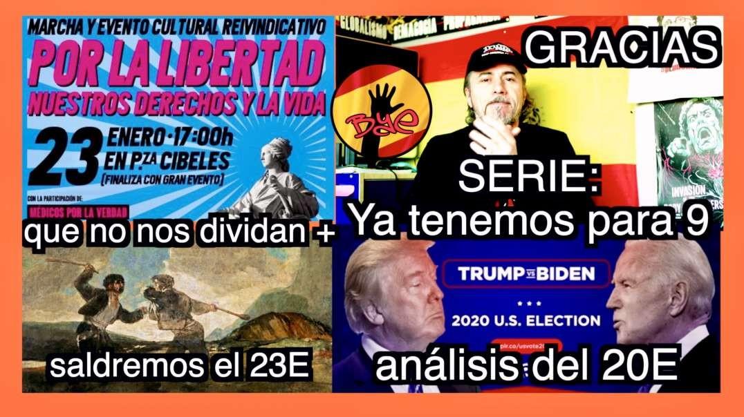 23E | 9 capítulos SERIE | Biden Vs Trump