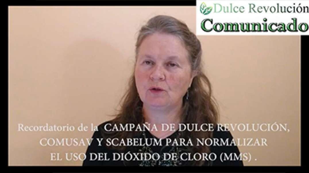 Recordatorio de la  CAMPAÑA DE DULCE REVOLUCIÓN, COMUSAV Y SCABELUM PARA NORMALIZAR EL USO DEL DIÓXI