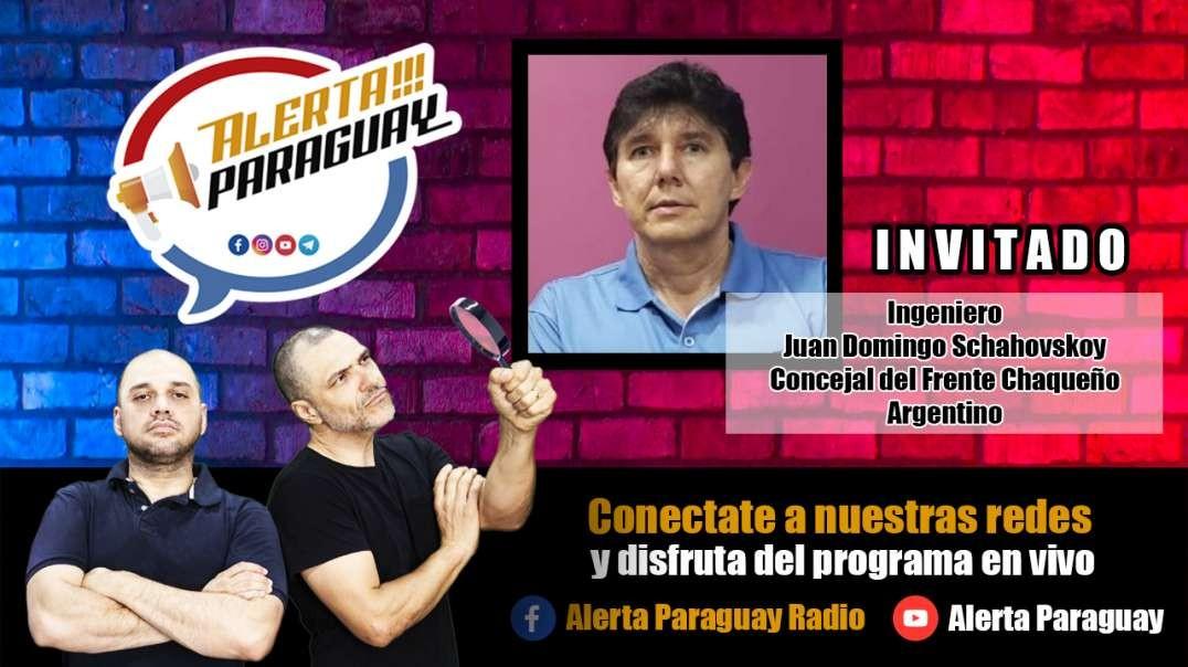 Entrevista desde la provincia del Chaco Argentina, con el Ingeniero Juan Domingo Schahovskoy, Conce