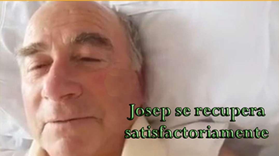 Josep Pàmies se recupera bien después de la intervención. Absteneros de llamarle o visitarle.