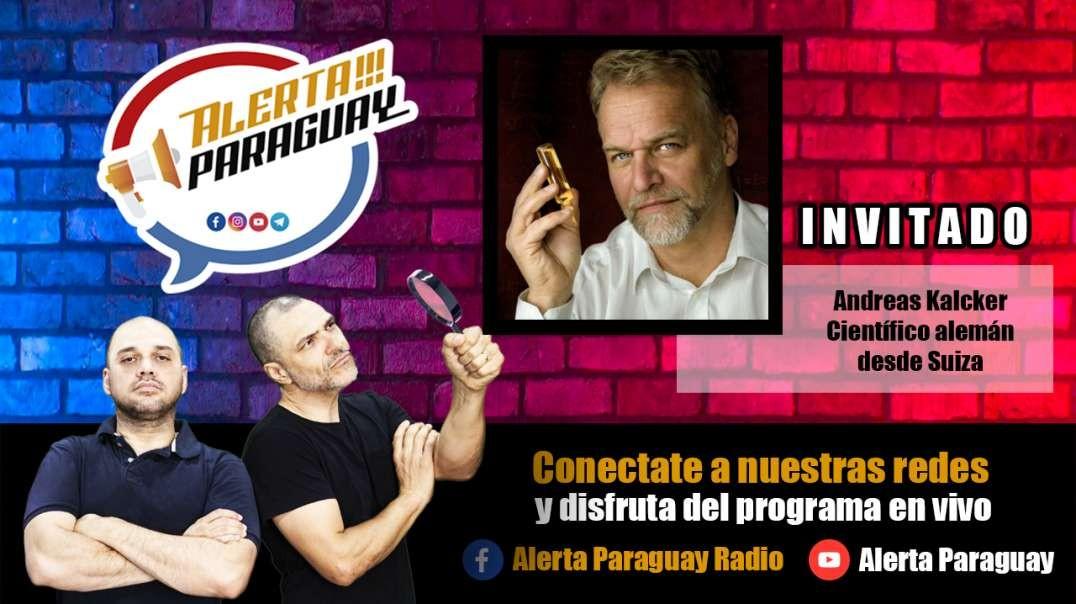 Entrevista Exclusiva con Andreas Kalcker (Alerta Paraguay)