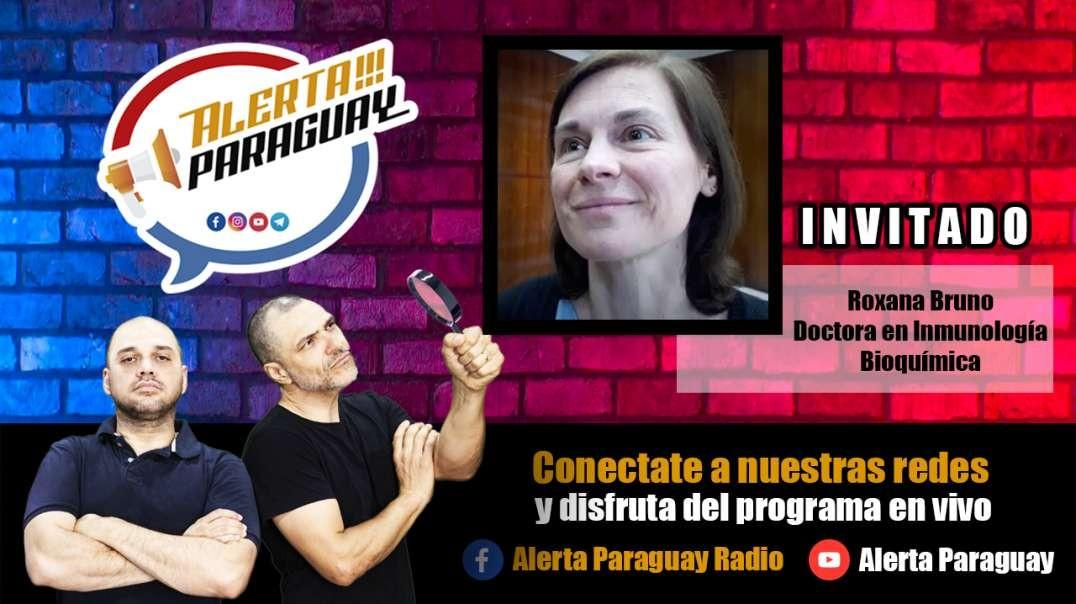 """ROXANA BRUNO: """"Ya nadie debería morir de COVID"""" #AlertaParaguay"""