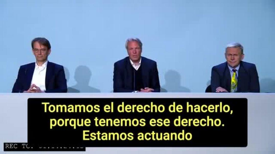PLANDEMIA - PRESIDENTA DE ALEMANIA EN PROBLEMAS
