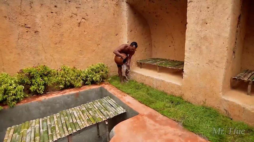 No lo creerás  - Son increíbles construyendo una casa con piscina subterránea