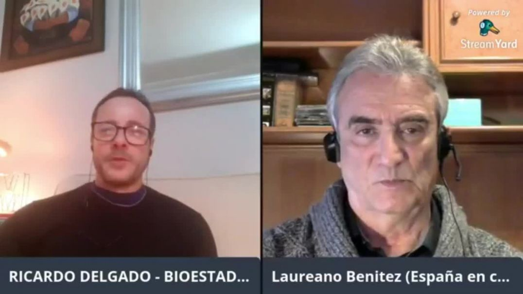 LA DICTADURA EN TIEMPOS DEL VIRUS | CHARLA CON EL ESCRITOR LAUREANO BENÍTEZ GRANDE-CABALLERO