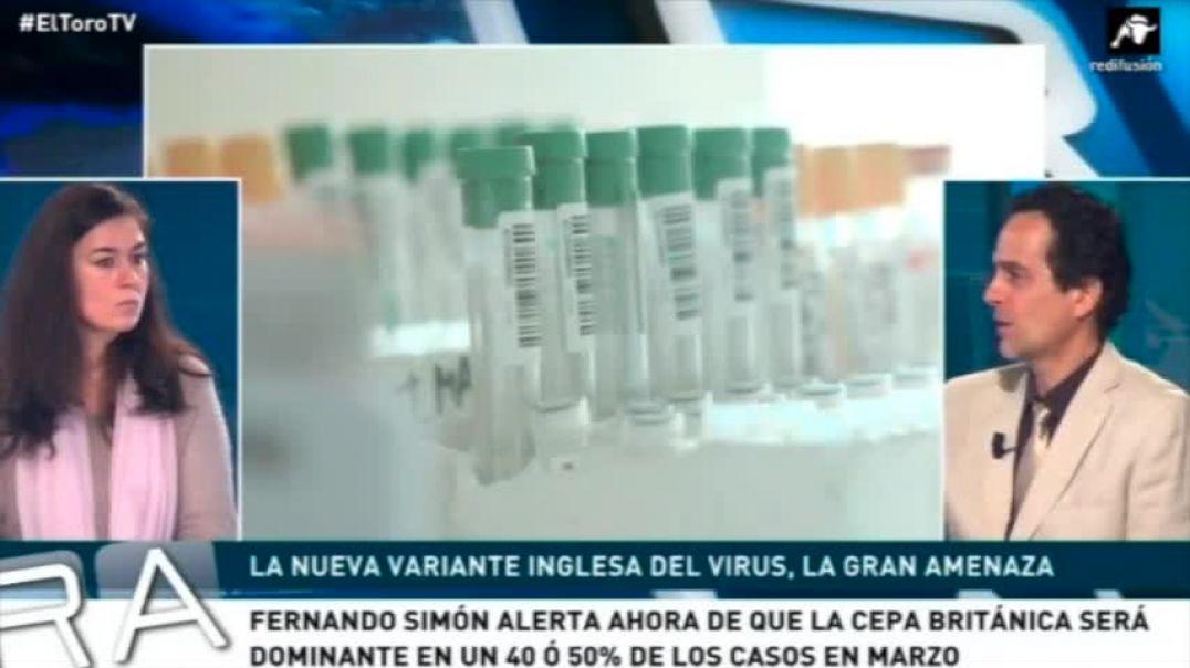 El Dr. Ángel Ruiz Valdepeñas y la Dra. Natalia Prego Cancelo. Ya no hay gripe?