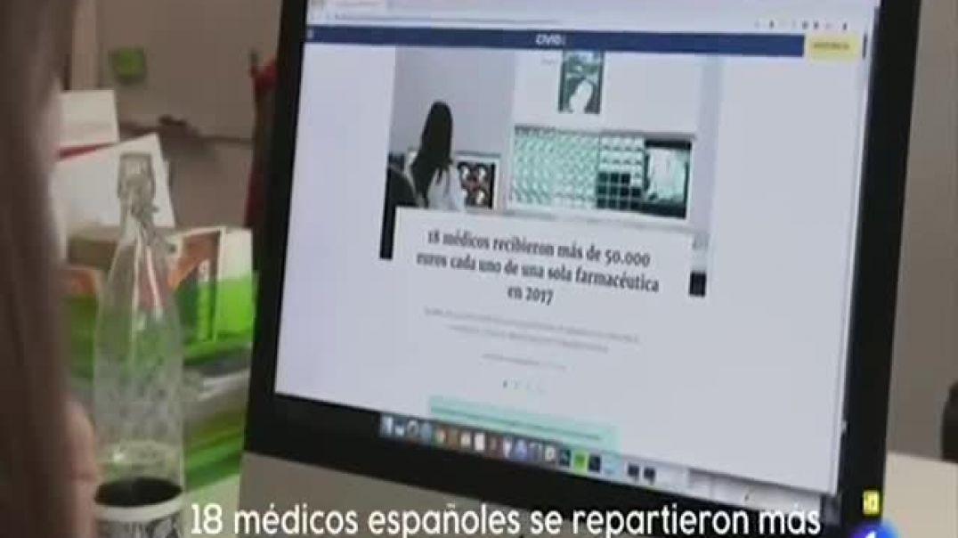 Fundación Ciudadana CIVIO sobre la financiación de las farmas a los médicos en España