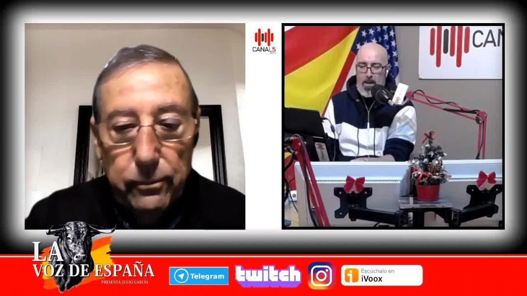 Entrevista a Antonio López en Canal5Radio.