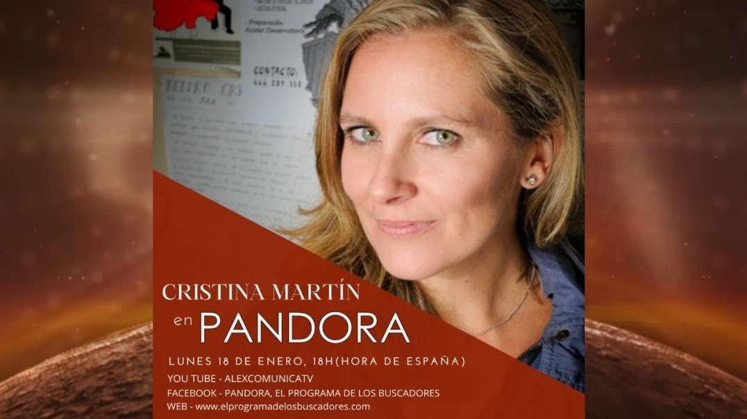 PANDORA #297: Entrevista en directo a CRISTINA MARTÍN JIMÉNEZ