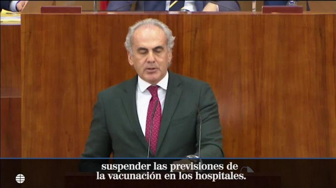 Madrid suspende el plan de vacunación a los sanitarios por falta de vacunas