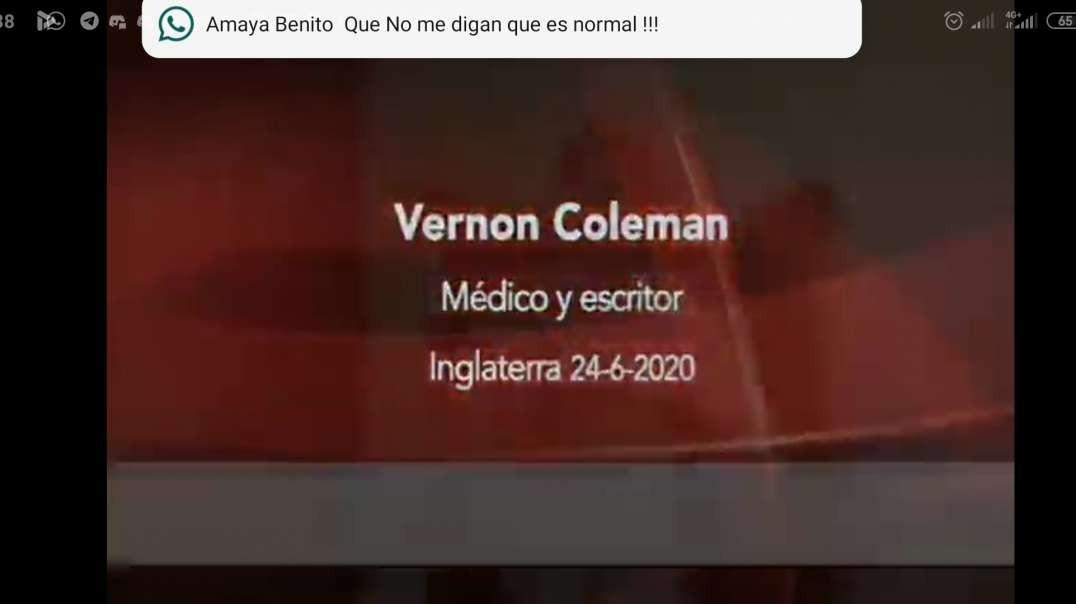 Vernon Coleman médico y escritor control personas