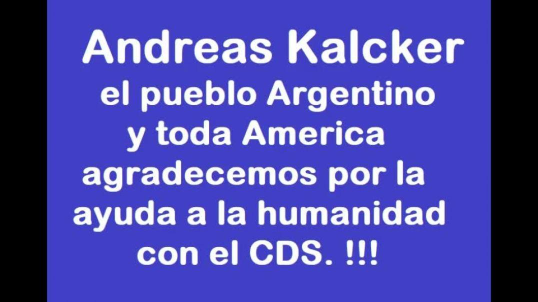 COMUNICADO DE ANDREAS KALCKER 2021