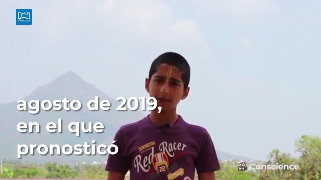 ABHIGYA EL NINO QUE PREDICE EL FIN DEL CORONAVIRUS Y LO QUE VIENE EN 2021