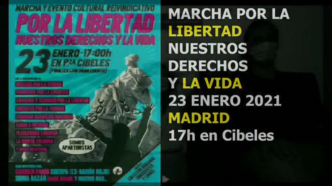 Marcha por la libertad Madrid